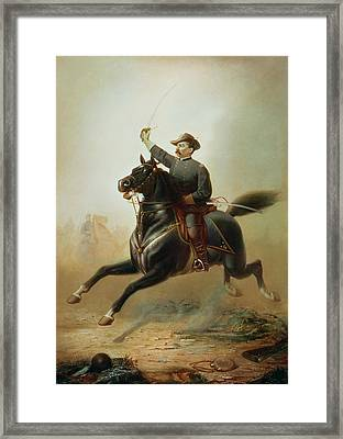 Sheridan's Ride Framed Print by Thomas Buchanan Read