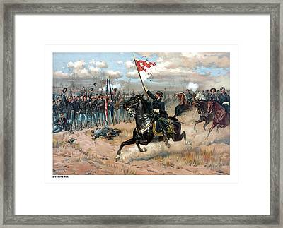 Sheridan's Ride Framed Print by War Is Hell Store