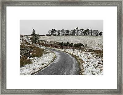 Sheriffmuir Road Framed Print