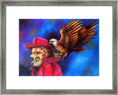 Sherlock Holmes Sharp As An Eagle Framed Print