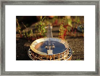 Sherridan Banjo Framed Print