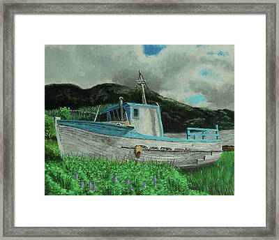 Sherry D Framed Print