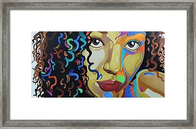 She's Complicated Framed Print by William Roby