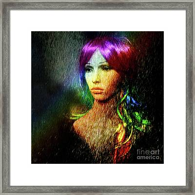 She's Like A Rainbow Framed Print