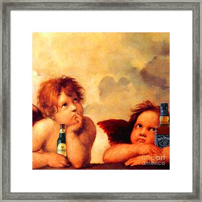 Shes Such A Prima Donna 20150622 Square Framed Print by Wingsdomain Art and Photography