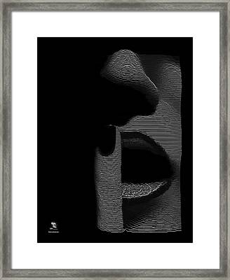Shhh Framed Print by ISAW Gallery