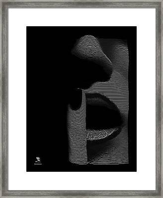 Shhh Framed Print