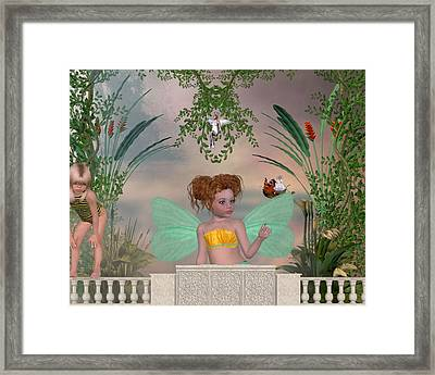 Shhhh Framed Print by Morning Dew