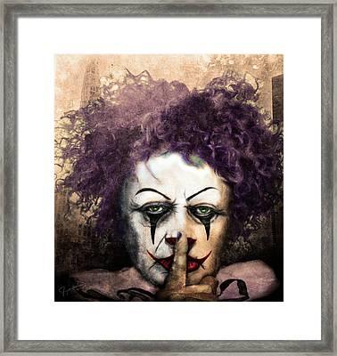 Shhhhh Framed Print by Jeremy Martinson