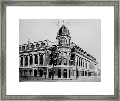 Shibe Park 1913  Framed Print by Bill Cannon