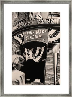 Shibe Park - Connie Mack Stadium Framed Print