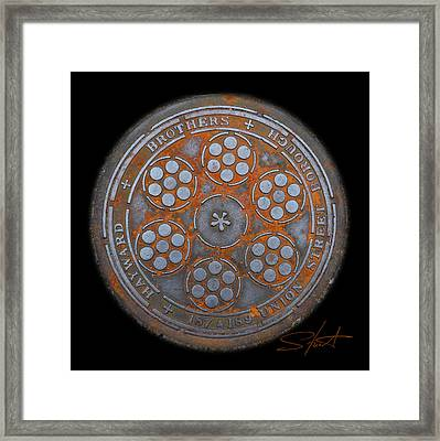 Shield 2 Framed Print