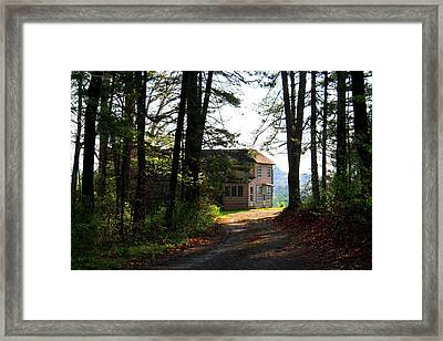 Framed Print featuring the photograph Shields Farm by Kathryn Meyer