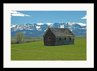 Ranch Photographs Framed Prints