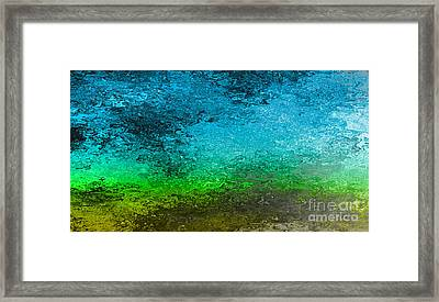 Shift In The Atmosphere Framed Print