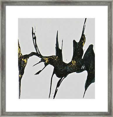 Shift Framed Print by Mary Sullivan