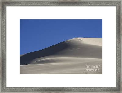 Shifting Dunes Framed Print by Ron Hoggard