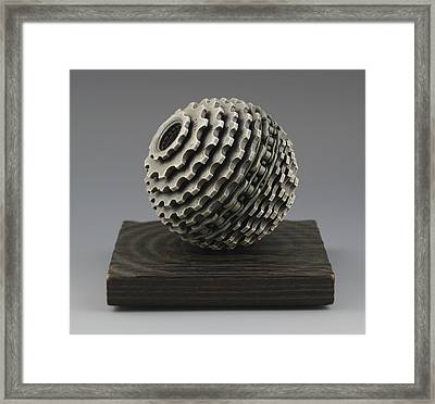 Shifting Gears Framed Print by Jacques Vesery