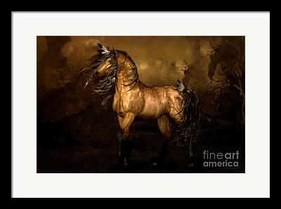 Luminous Digital Art Framed Prints