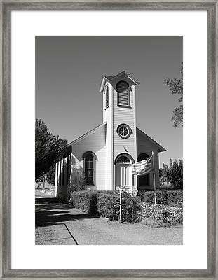 Shiloh Church Framed Print by Troy Montemayor