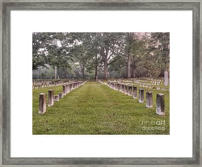 Shiloh Morning Framed Print by David Bearden
