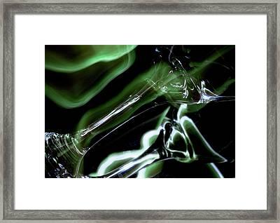 Shimmer Framed Print by Barbara  White
