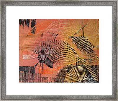 Shimmer Framed Print by Melissa Goodrich