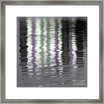 Framed Print featuring the photograph Shimmer by Wendy Wilton