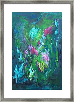 Shimmering Energy Framed Print by Michele D B