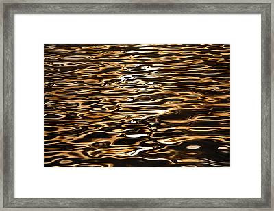 Framed Print featuring the photograph Shimmering Reflections by Az Jackson