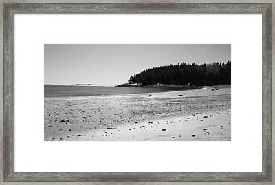 Framed Print featuring the photograph Shimmering Sand by Corinne Rhode
