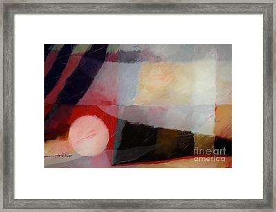 Shimmery Landscape Framed Print by Lutz Baar