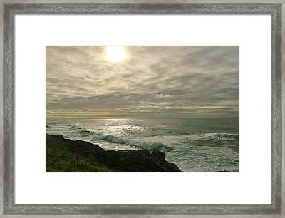 Shimmery  Light Framed Print