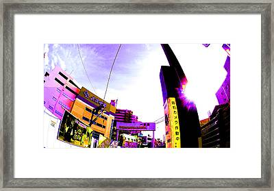 Shimokitazawa Tokyo Framed Print by Jera Sky