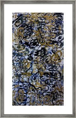 Shin Pads Framed Print by Ken Yackel