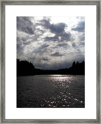 Framed Print featuring the photograph Shine On by Angie Rea
