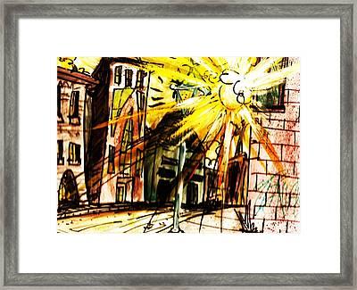 Shine On Framed Print by Josh Burns