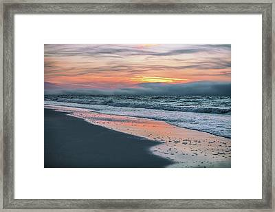 Framed Print featuring the photograph Shine On Me Beach Sunrise  by John McGraw
