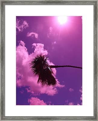 Shine On Me Framed Print by Florene Welebny