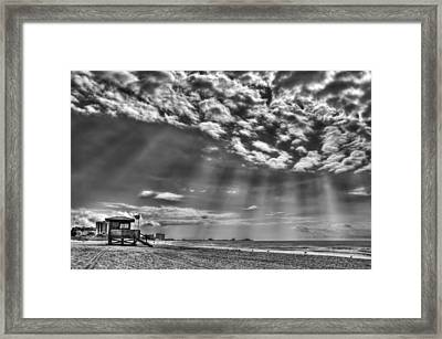 Shine On You Crazy Diamond Framed Print by Evelina Kremsdorf