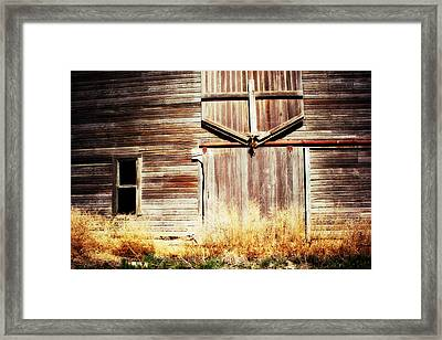 Shine The Light On Me Framed Print by Julie Hamilton