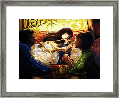 Shinig Euphoria Framed Print