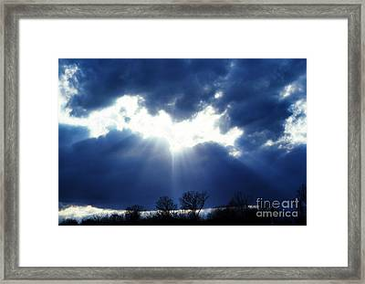 Shining Glory Framed Print