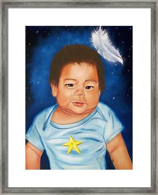 Shining Star Framed Print by Joni McPherson