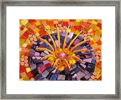 Shining Through Framed Print by Valerie Fuqua