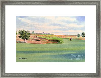 Shinnecock Hills Golf Course Framed Print by Bill Holkham