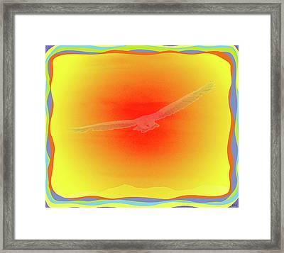 Shinning Flight Framed Print