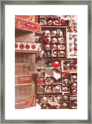 Shiny And Red Framed Print by JAMART Photography