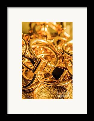 Promise Ring Framed Prints
