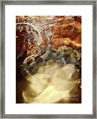 Shiny Happy Bubble Framed Print